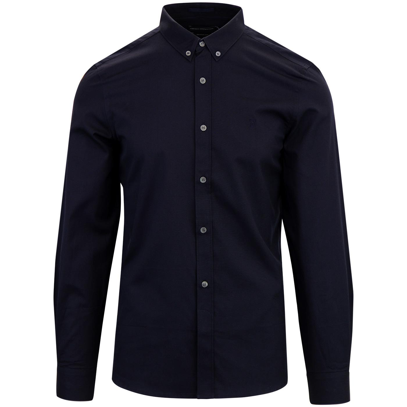 FRENCH CONNECTION Retro Classic Soft Oxford Shirt