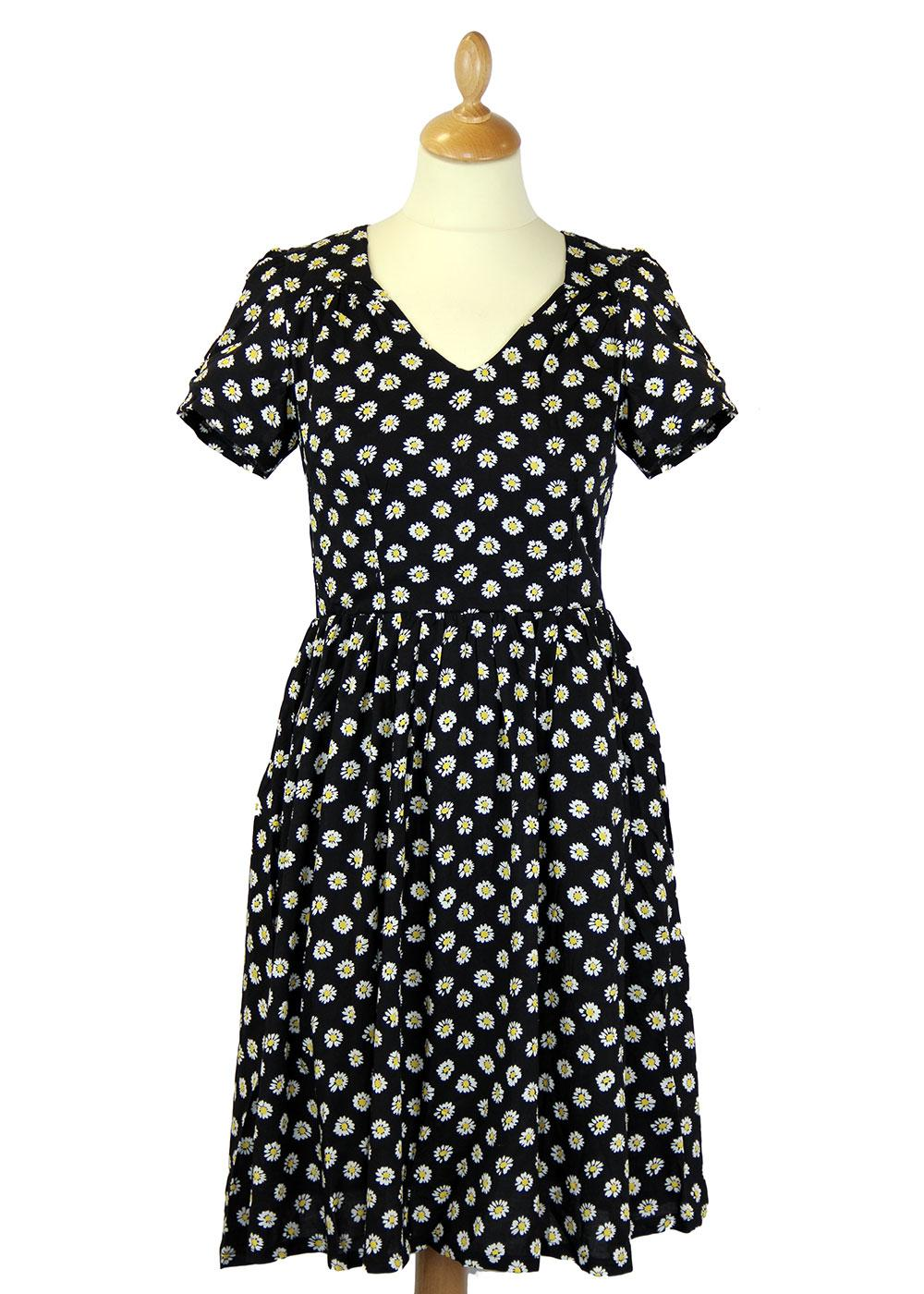 Fleur FRIDAY ON MY MIND Retro 50s Vintage Dress B