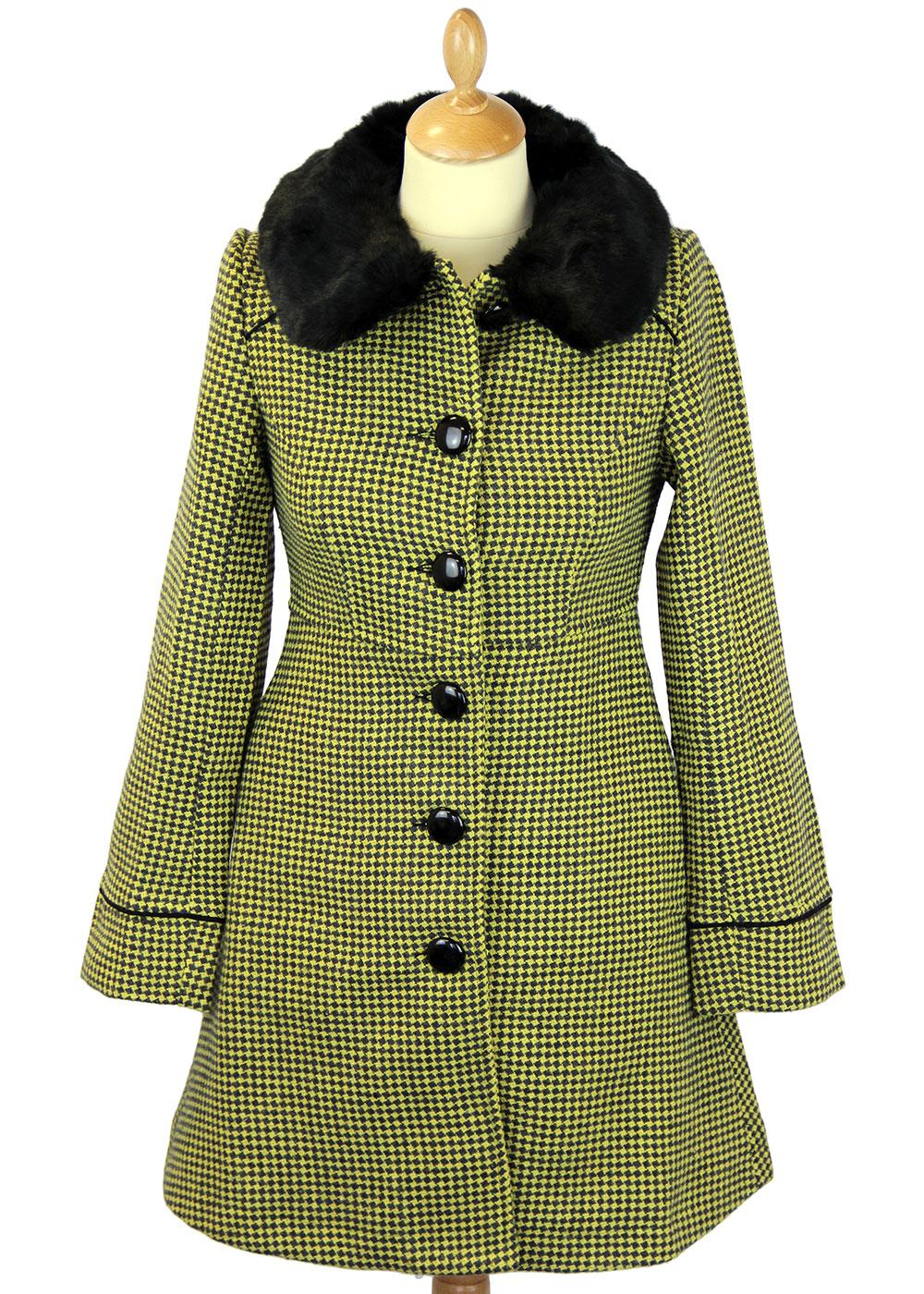 Tammy FRIDAY ON MY MIND Retro Jacquard Knit Coat Y