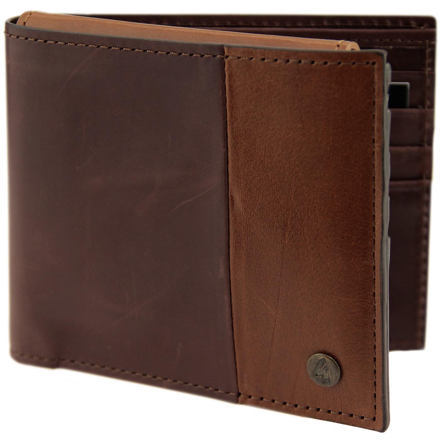 GABICCI VINTAGE Leather Cardholder & Wallet Set