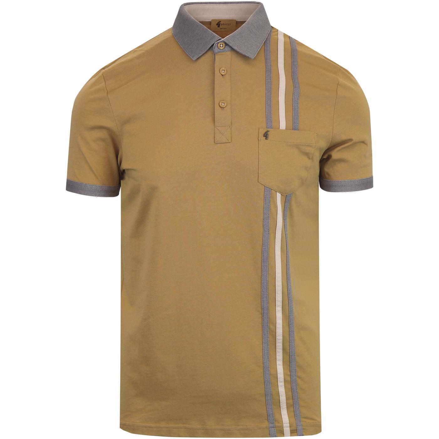 Ebury GABICCI VINTAGE Retro Mod Jersey Polo