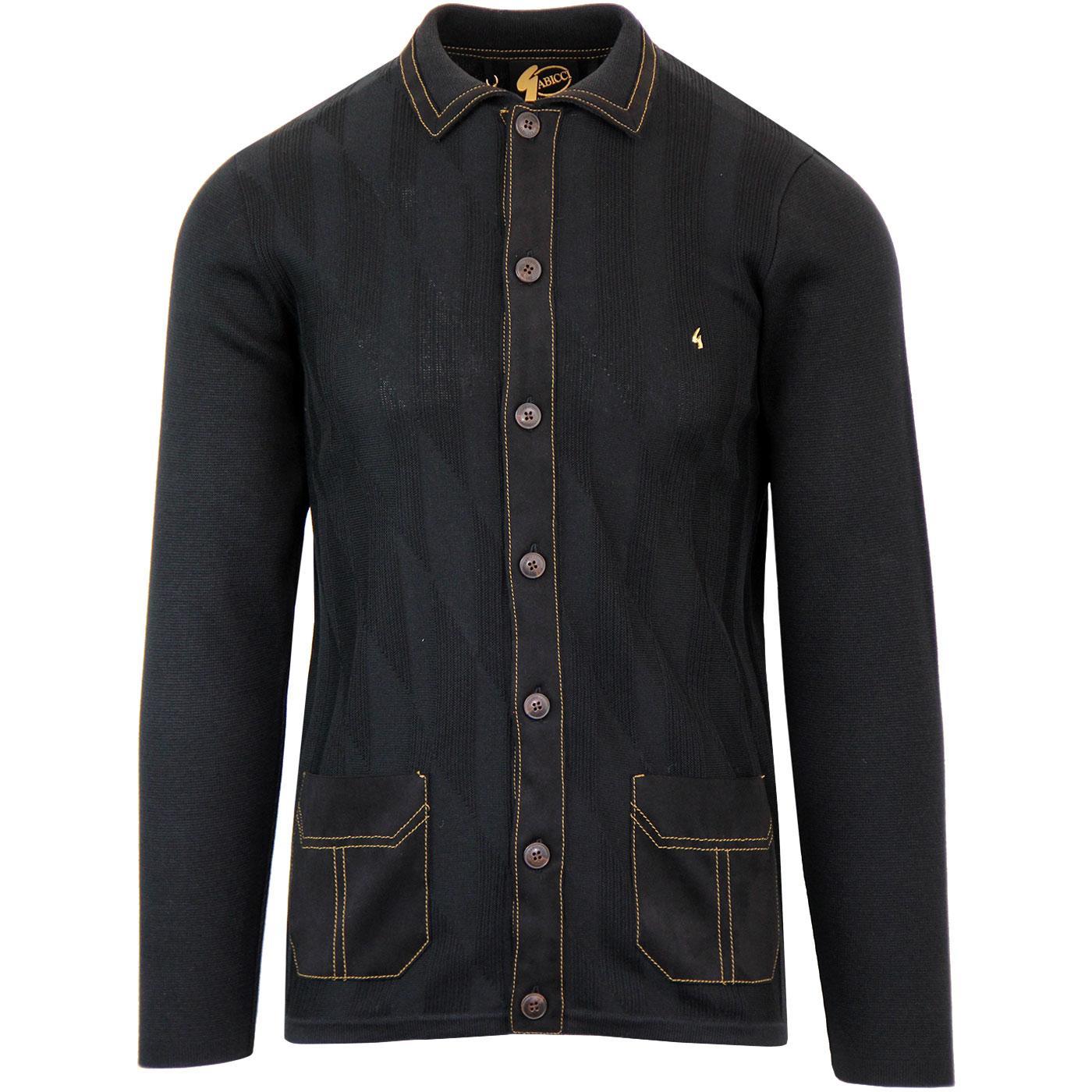 Evan GABICCI VINTAGE Ltd Edition Mod Polo Cardigan