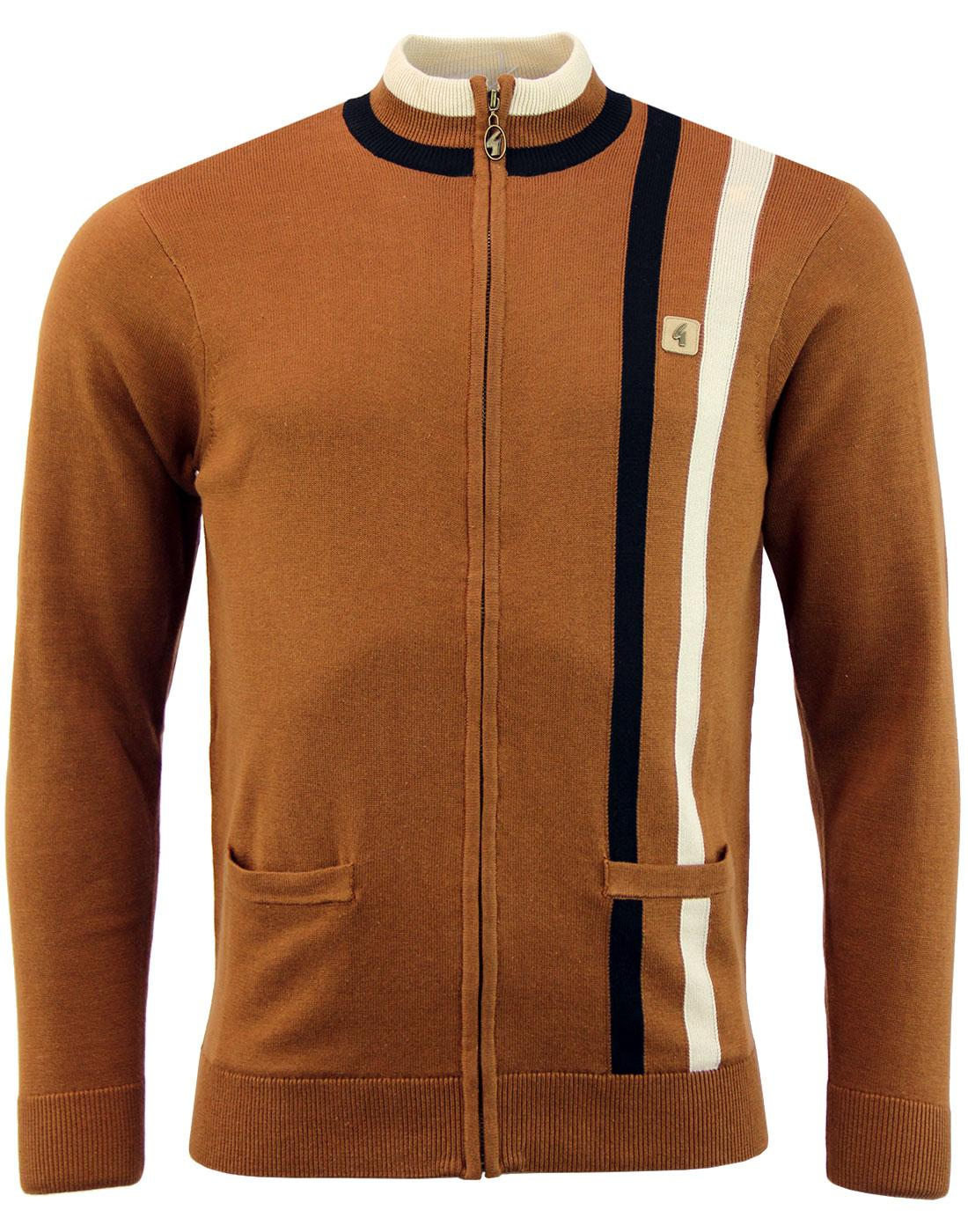 Forum GABICCI VINTAGE Retro Knitted Track Top (T)