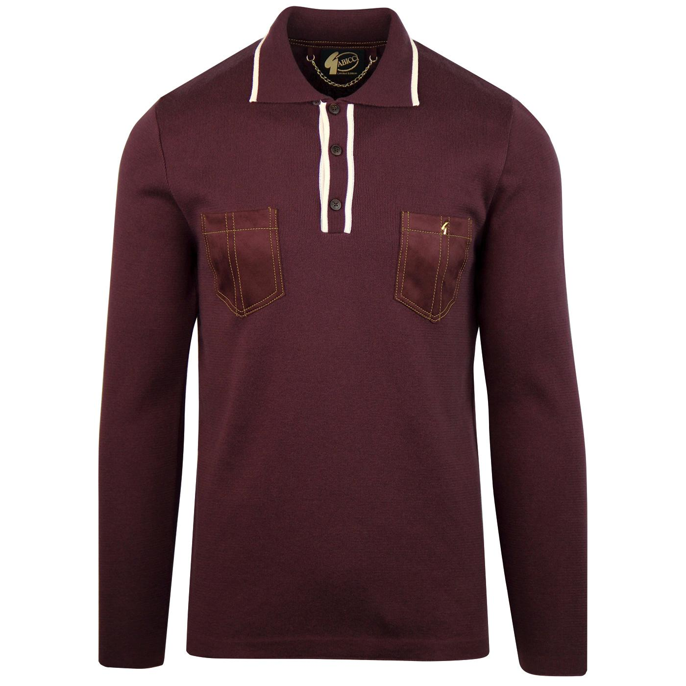 Hachet GABICCI VINTAGE Ltd Edition Knitted Polo