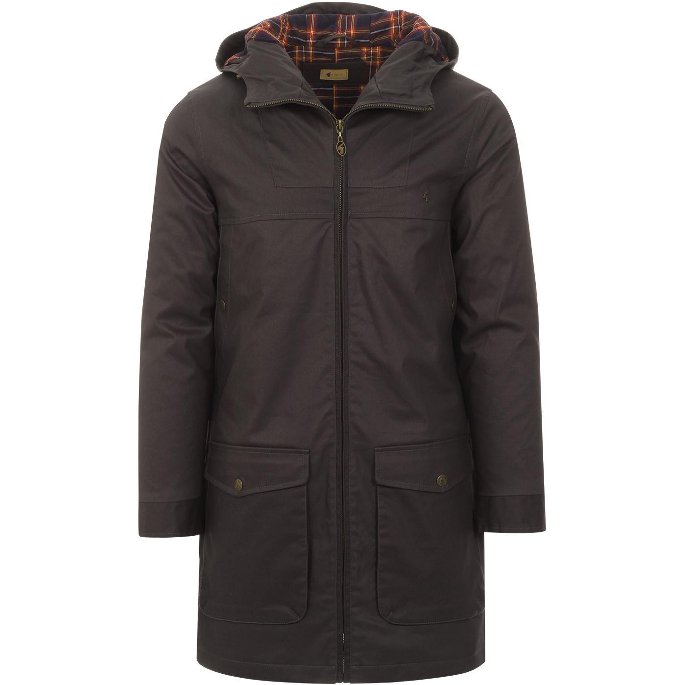 Paxton GABICCI VINTAGE Mod Waxed Parka Jacket