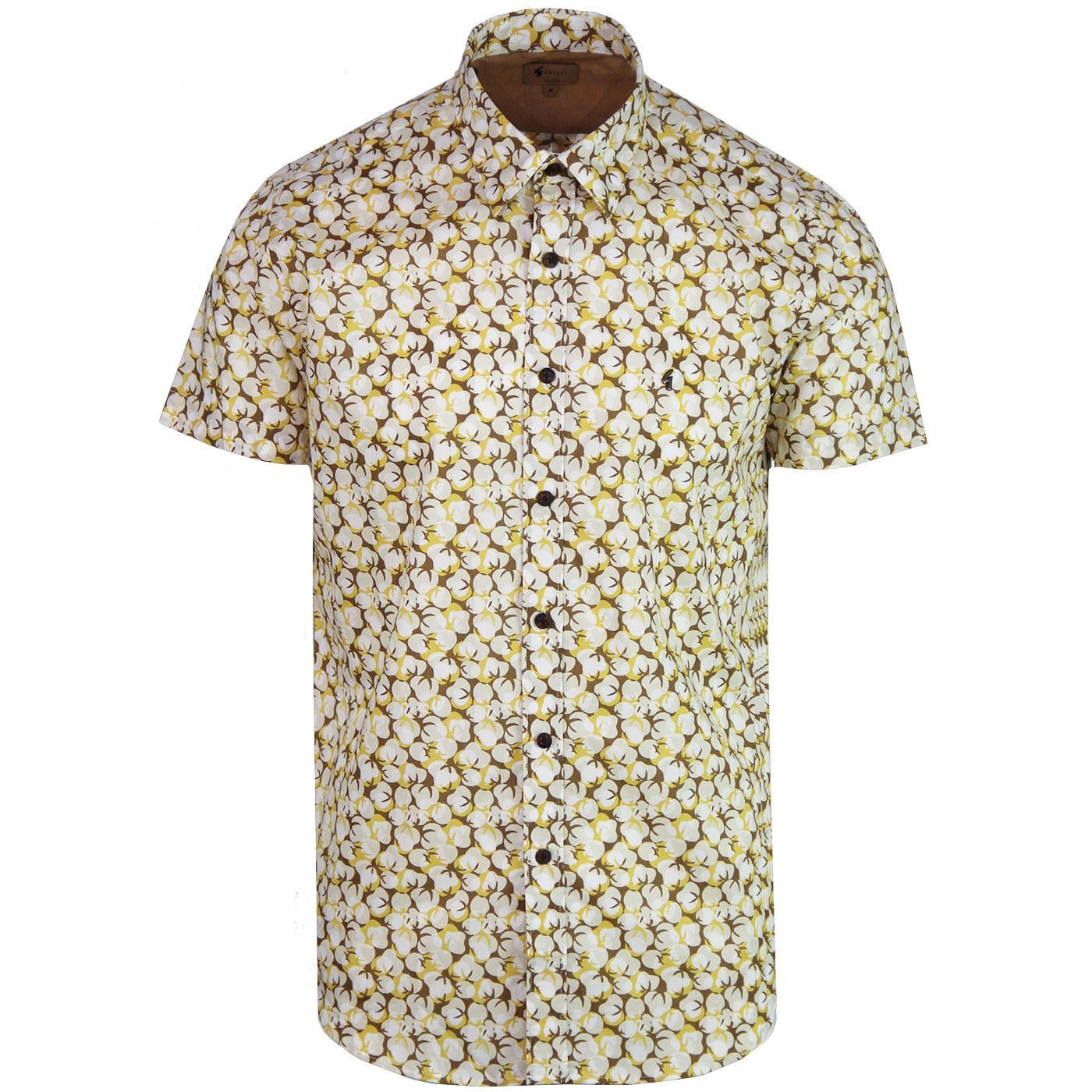 Ashmore GABICCI VINTAGE Retro 70s Popcorn Shirt