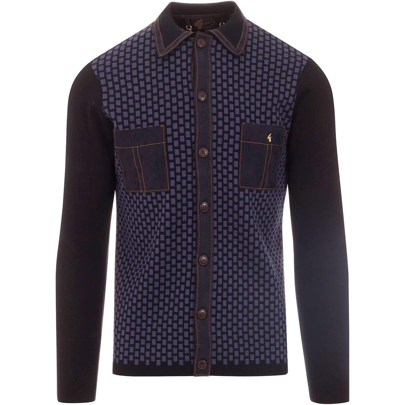 Bessemer GABICCI VINTAGE Ltd Edition Polo Cardigan