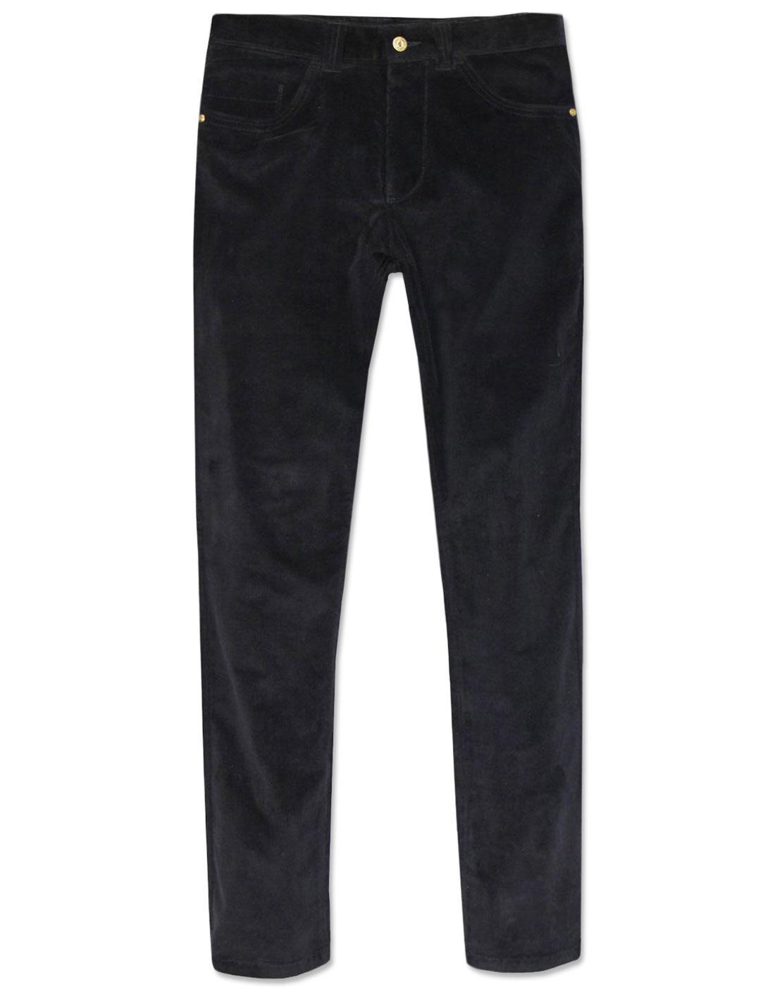 Robson GABICCI VINTAGE Mod Slim Cord Trousers (B)