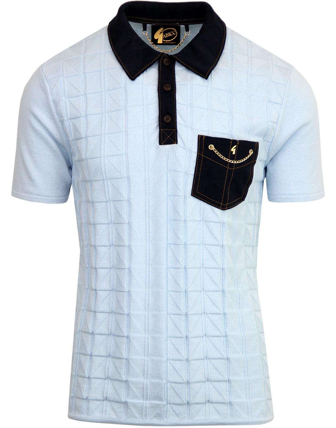 Woolston GABICCI VINTAGE Ltd Edition Knitted Polo