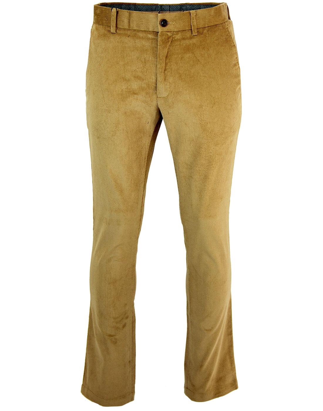 GABICCI VINTAGE 60s Mod Cord Trousers