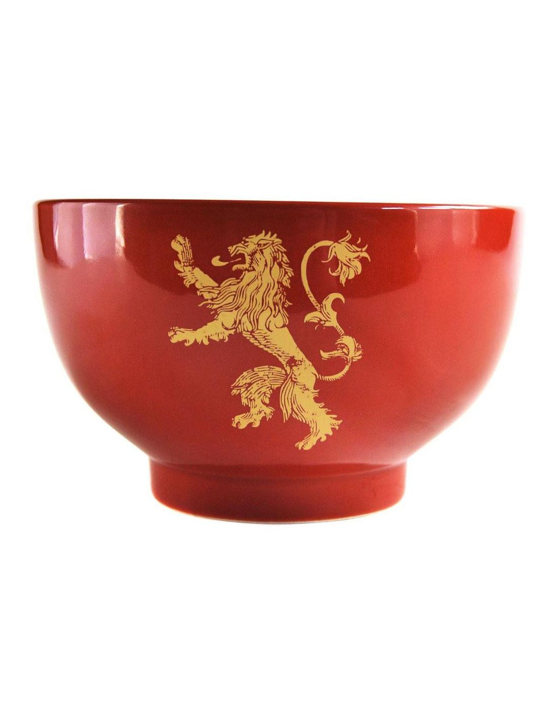House Lannister GAME OF THRONES Gift Boxed Bowl