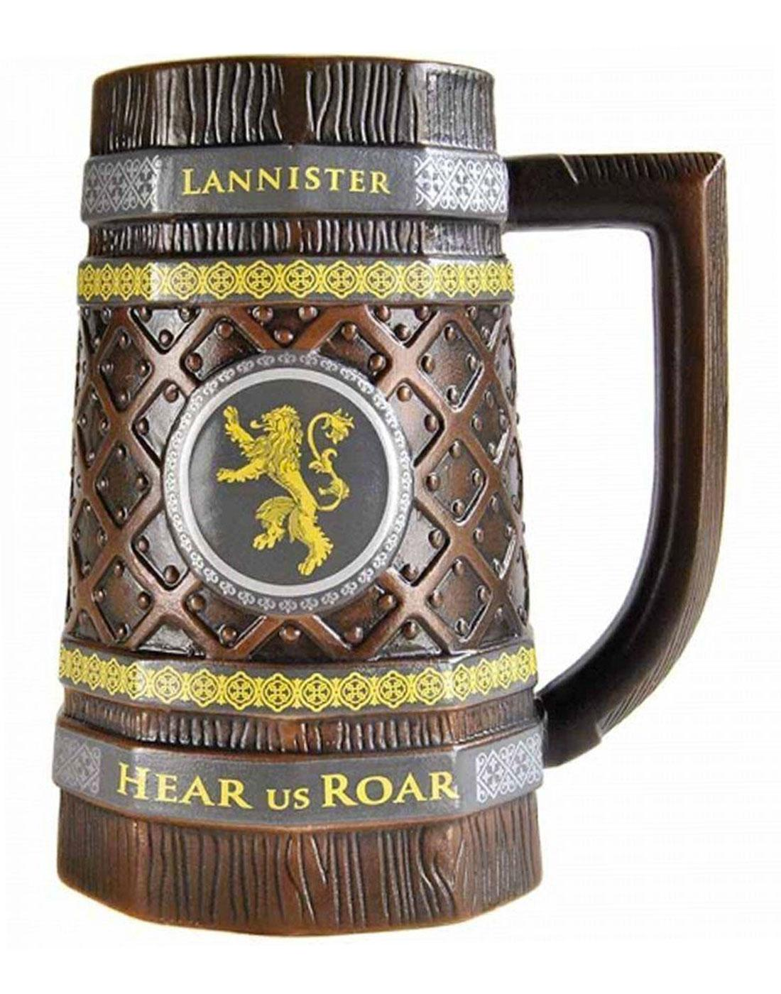 GAME OF THRONES Lannister Stein Lion Sigil Mug