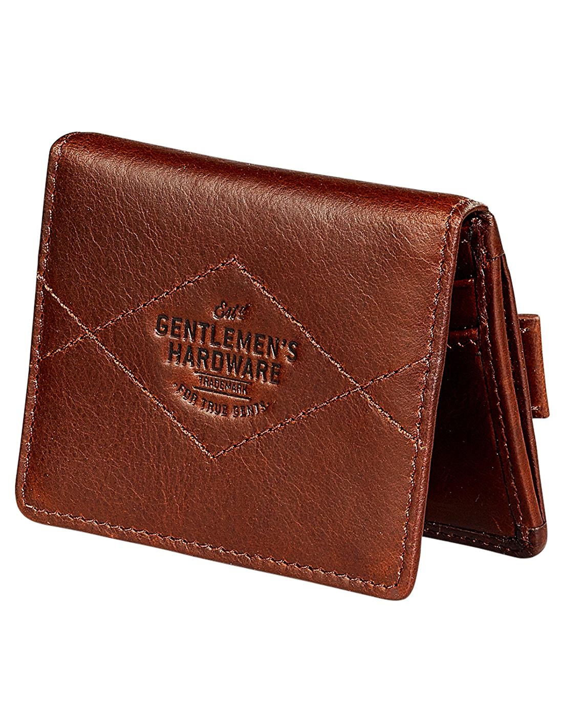 GENTLEMEN'S HARDWARE Leather Double Card Holder