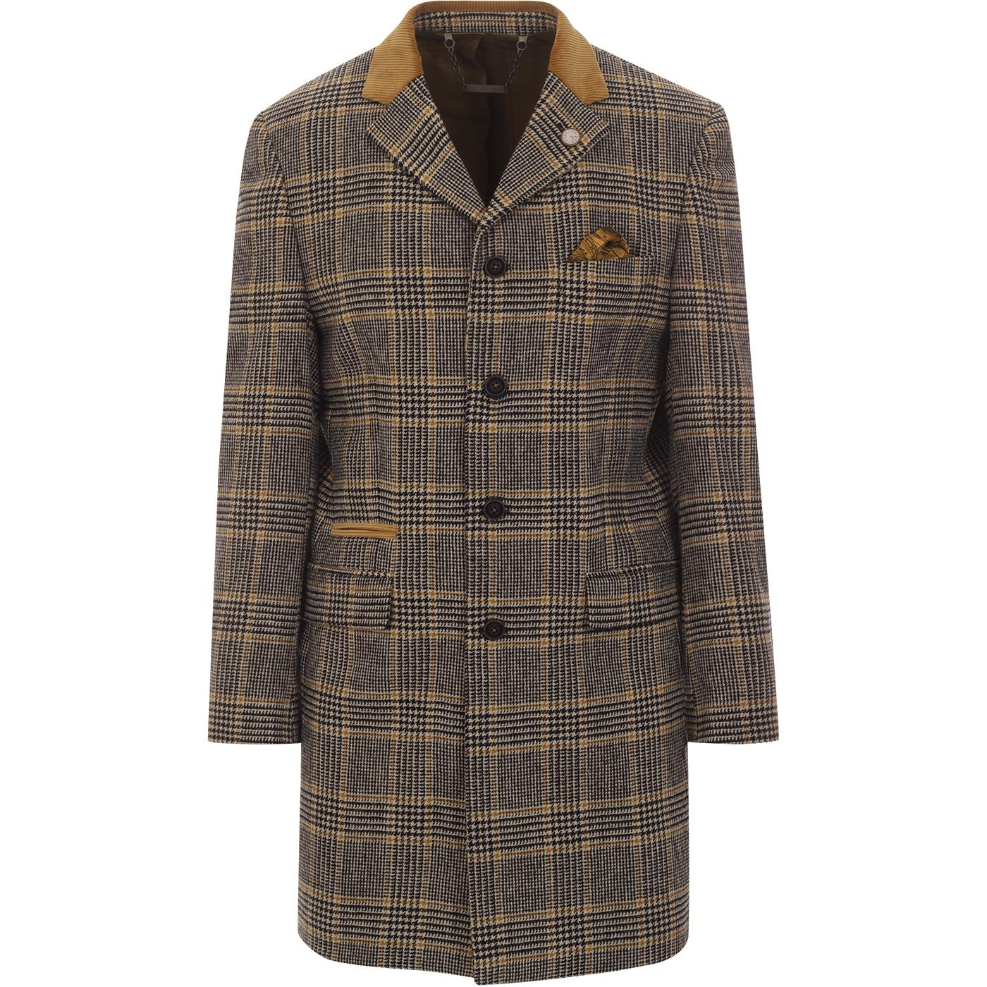 Vinnie GIBSON LONDON Mod Pow Check Dress Jacket C