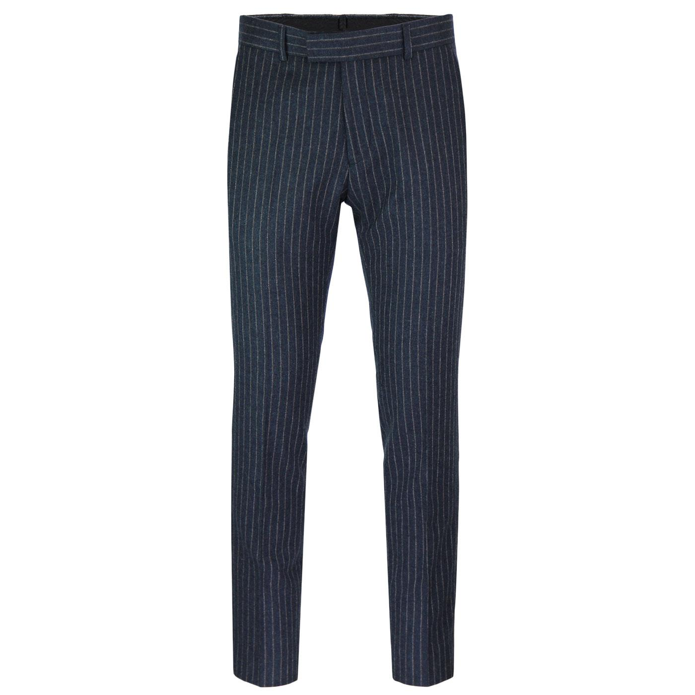 Radisson GIBSON LONDON Mod Pinstripe Suit Trousers