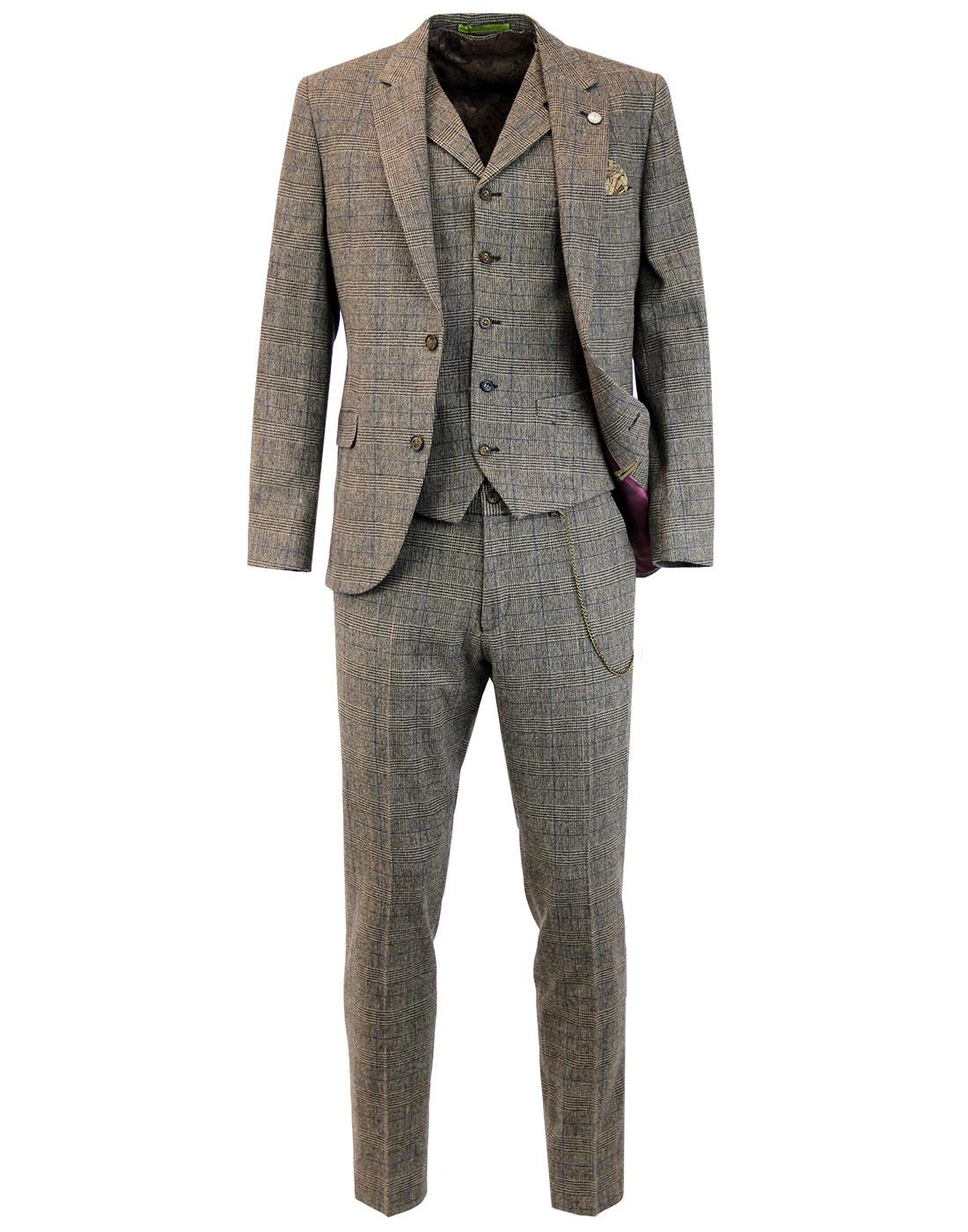 Towergate GIBSON LONDON Mod Prince of Wales Suit