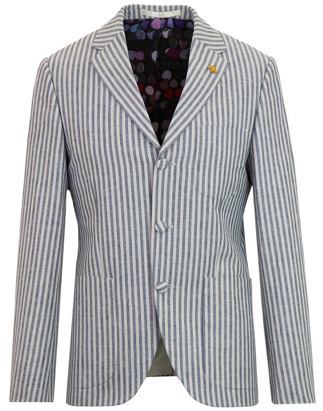 Moorgate GIBSON LONDON Mod 3 Button Boating Blazer