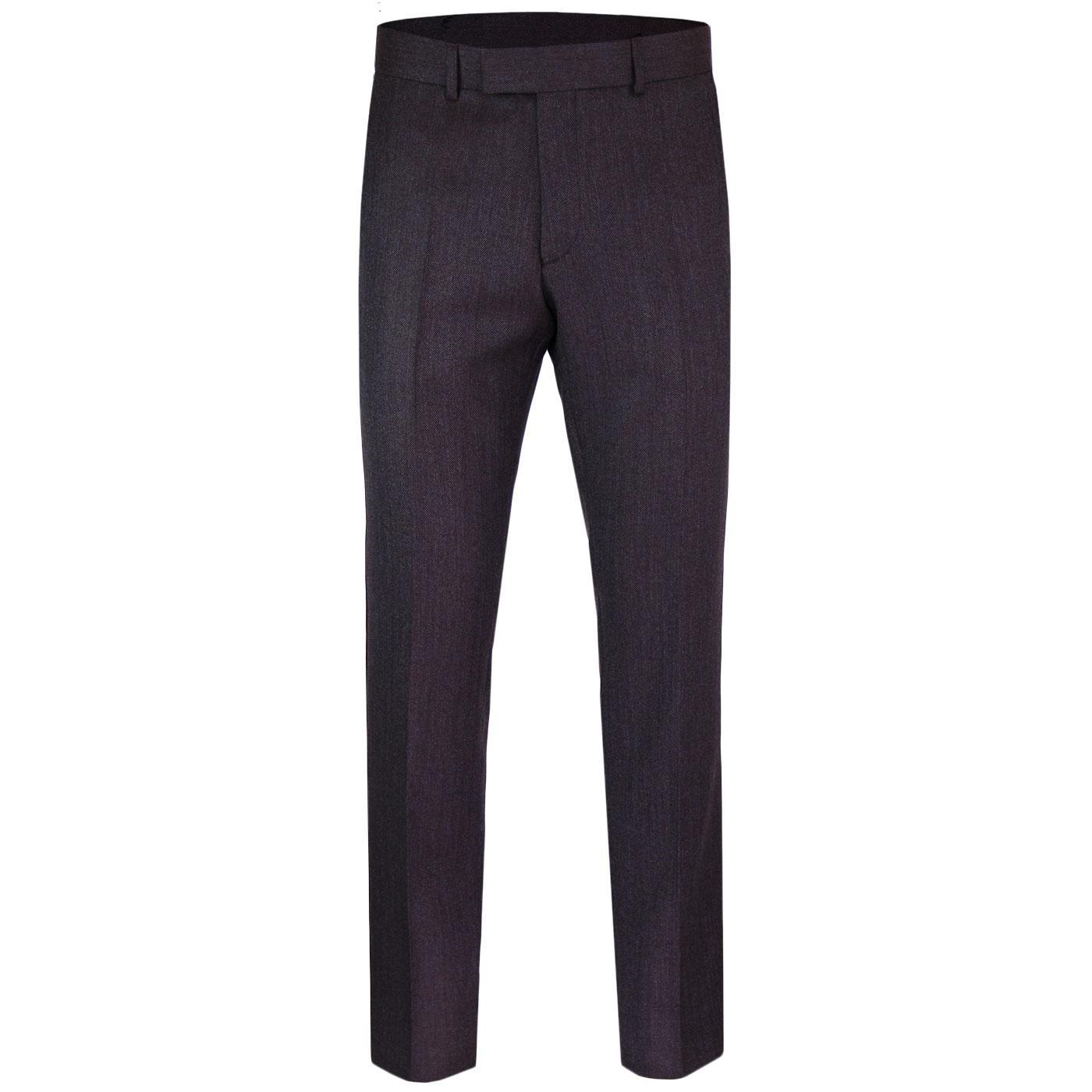 Radisson GIBSON LONDON Herringbone Tonic Trousers
