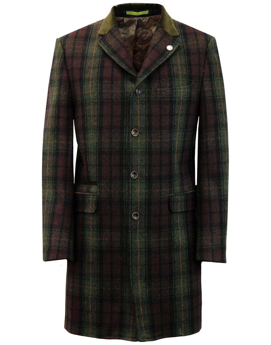 Winnie GIBSON LONDON 3/4 Length Cord Collar Coat G