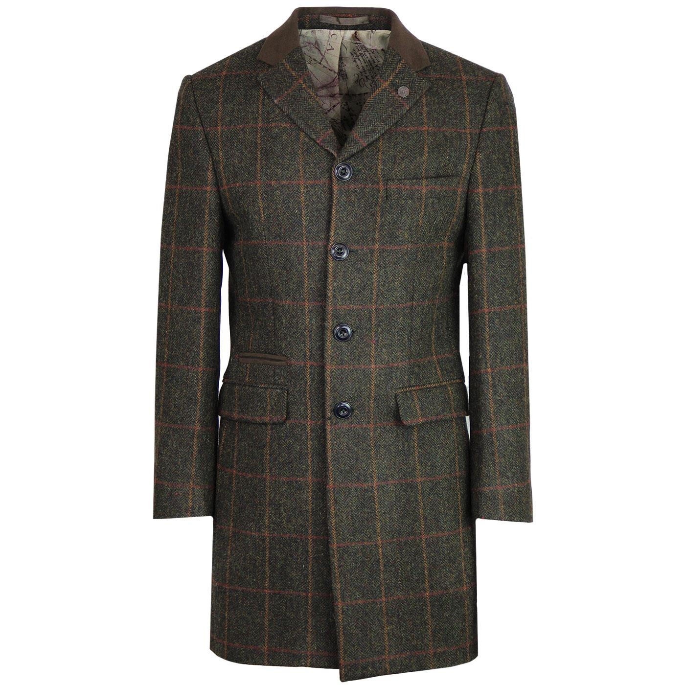 Winnie GIBSON LONDON Herringbone Check Dress Coat