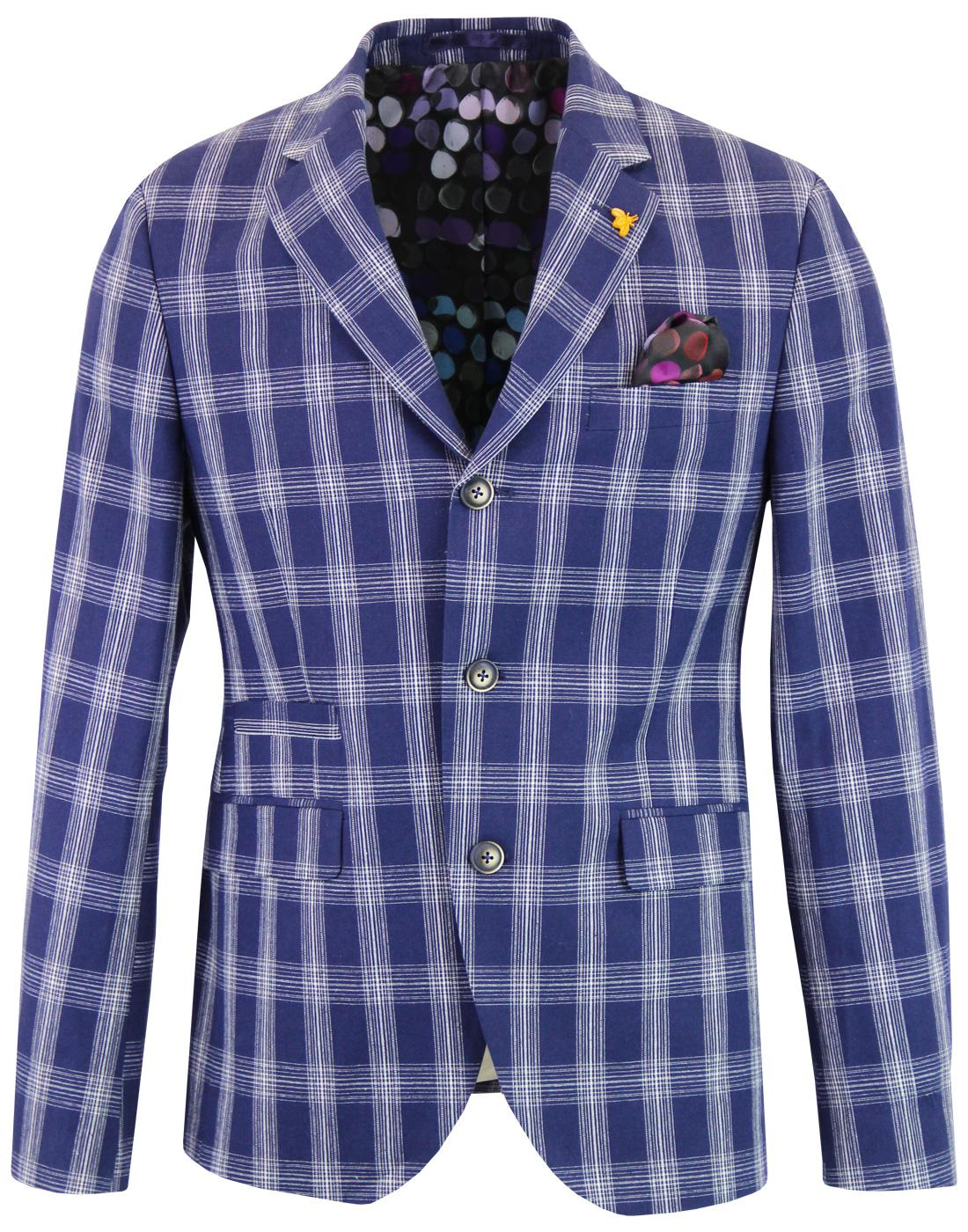 Moorgate GIBSON LONDON Check Ivy League Blazer
