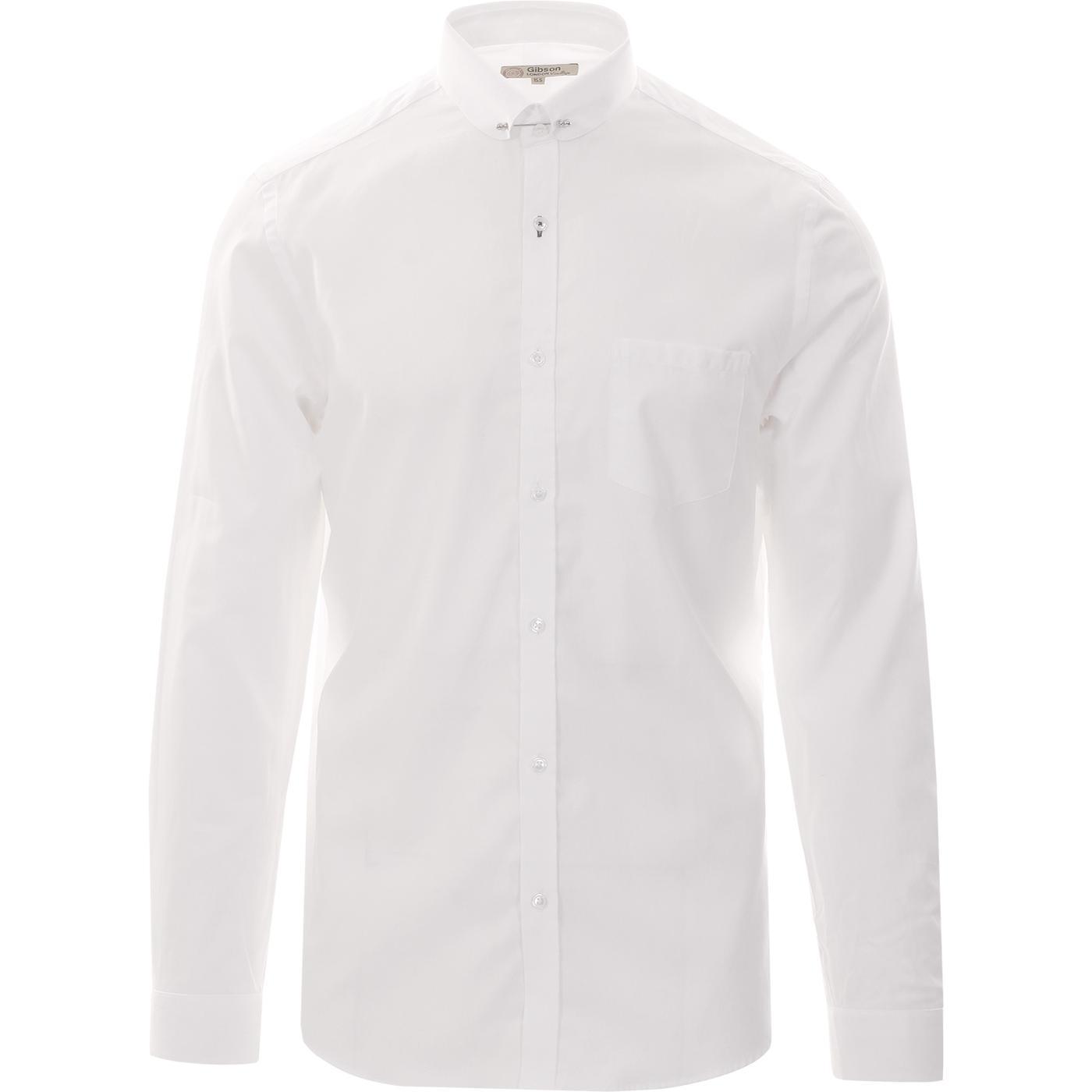 GIBSON LODNON Mod Smart Oxford Pin Collar Shirt
