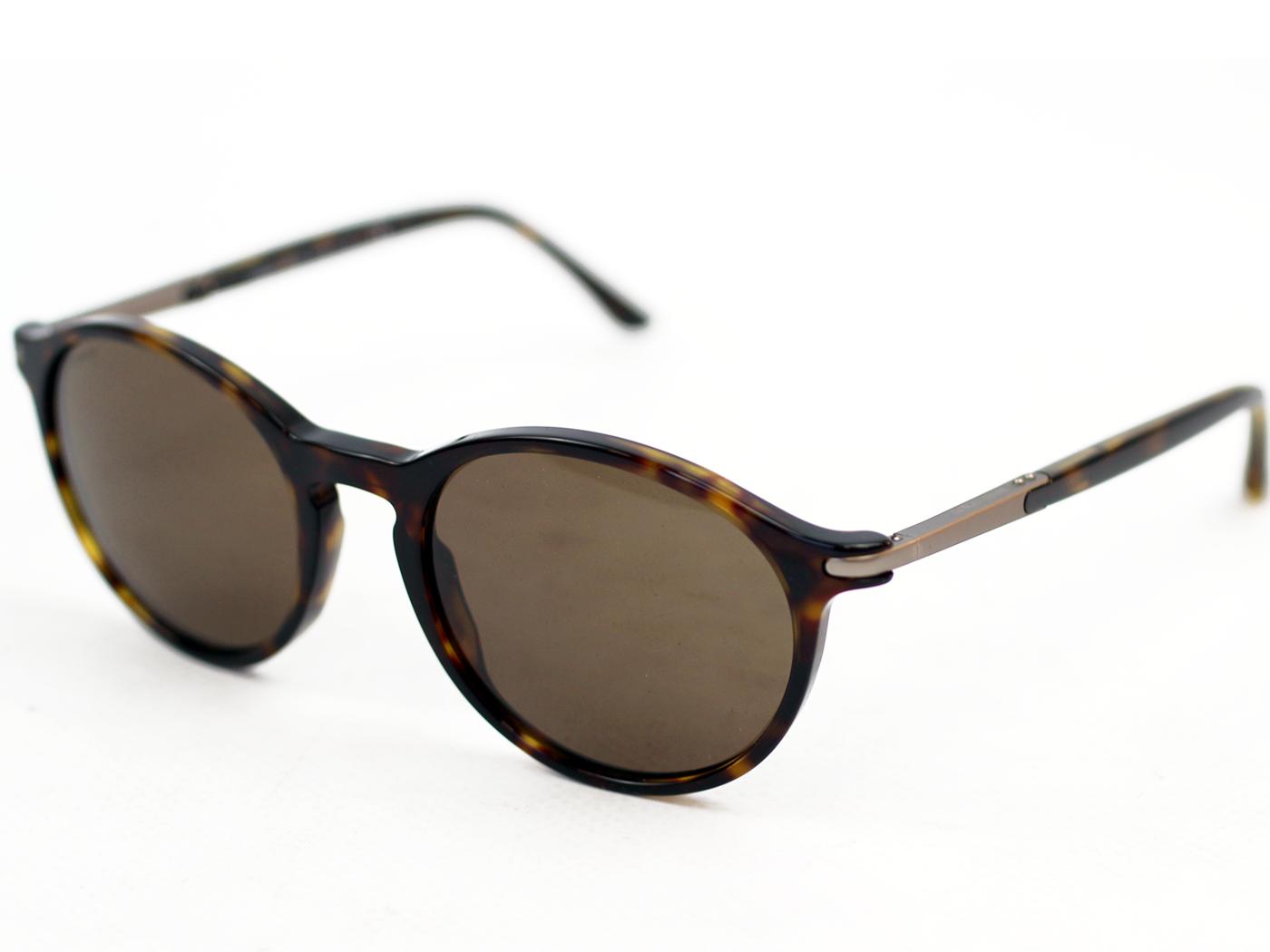 33fe19f9da4 Giorgio Armani Retro Mod 60s Style Round Sunglasses 0AR8009
