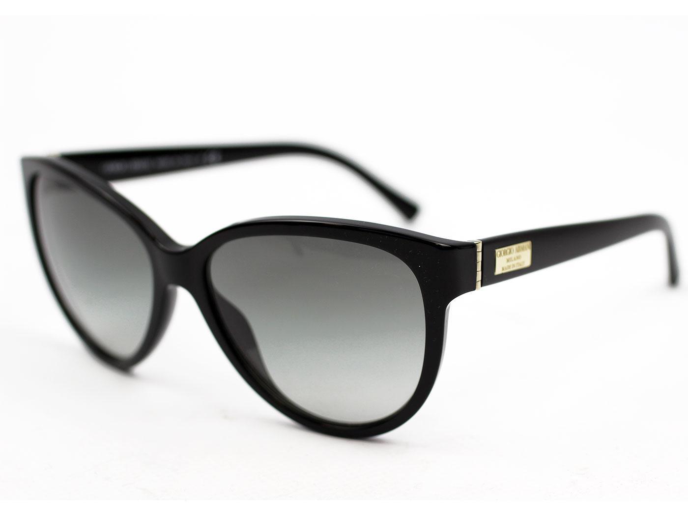 Giorgio Armani Retro 50s Cat Eye Sunglasses in Black 0AR8021