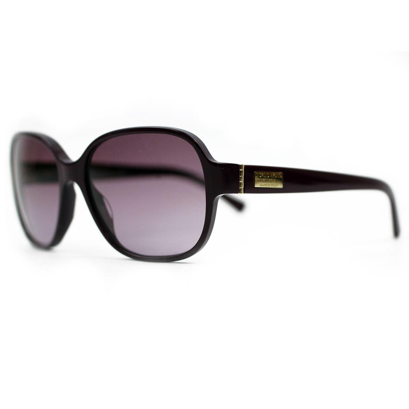 GIORGIO ARMANI 50s Retro Square Frame Sunglasses P