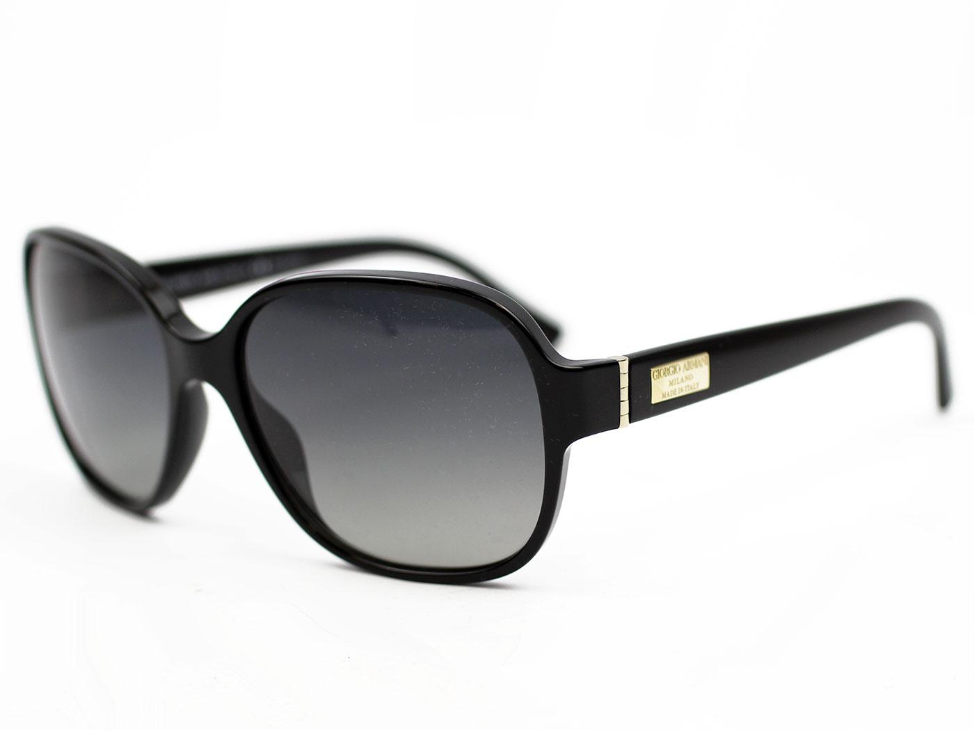 GIORGIO ARMANI 50s Vintage Square Frame Sunglasses