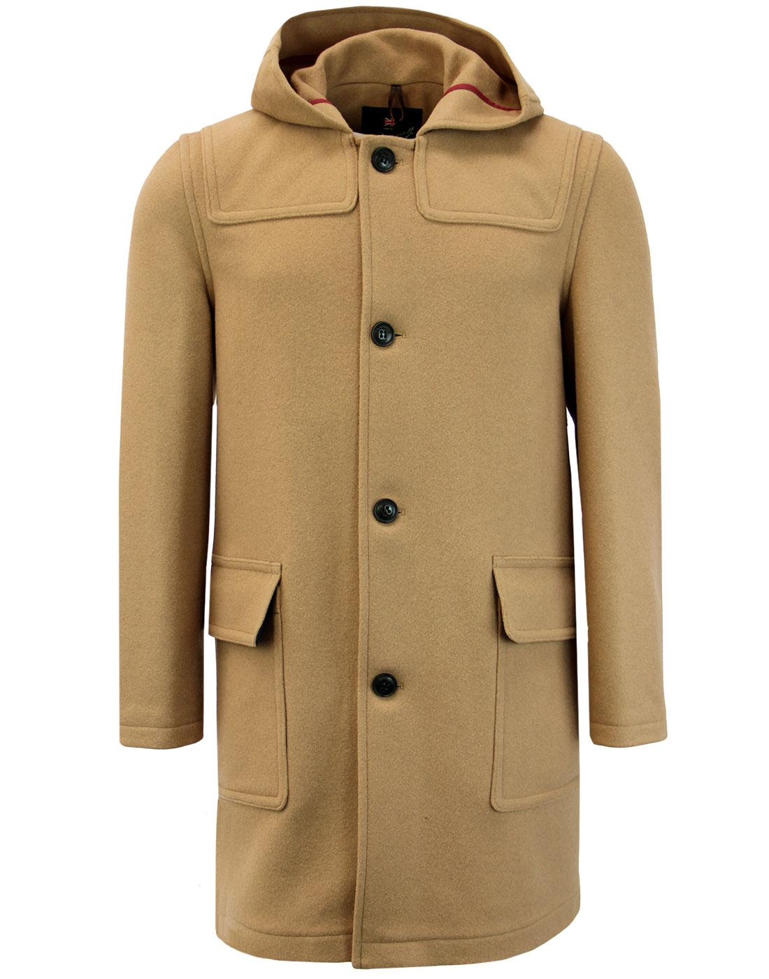 GLOVERALL Made in England Mod Button Duffle Coat