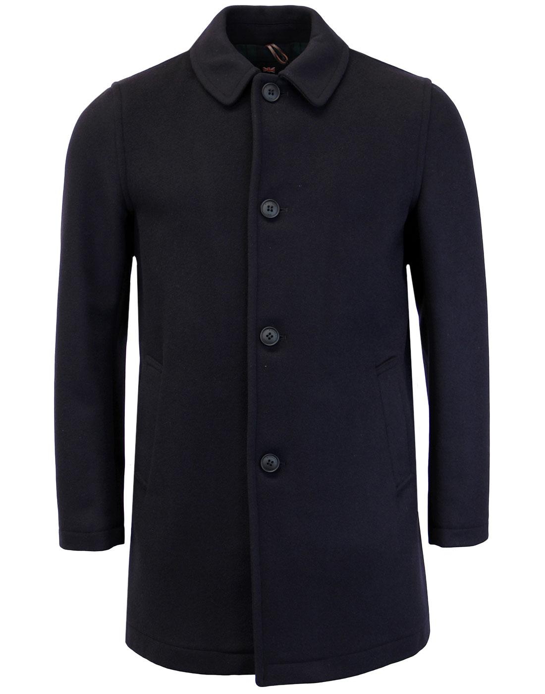 GLOVERALL Made in England 60s Mod Casual Overcoat