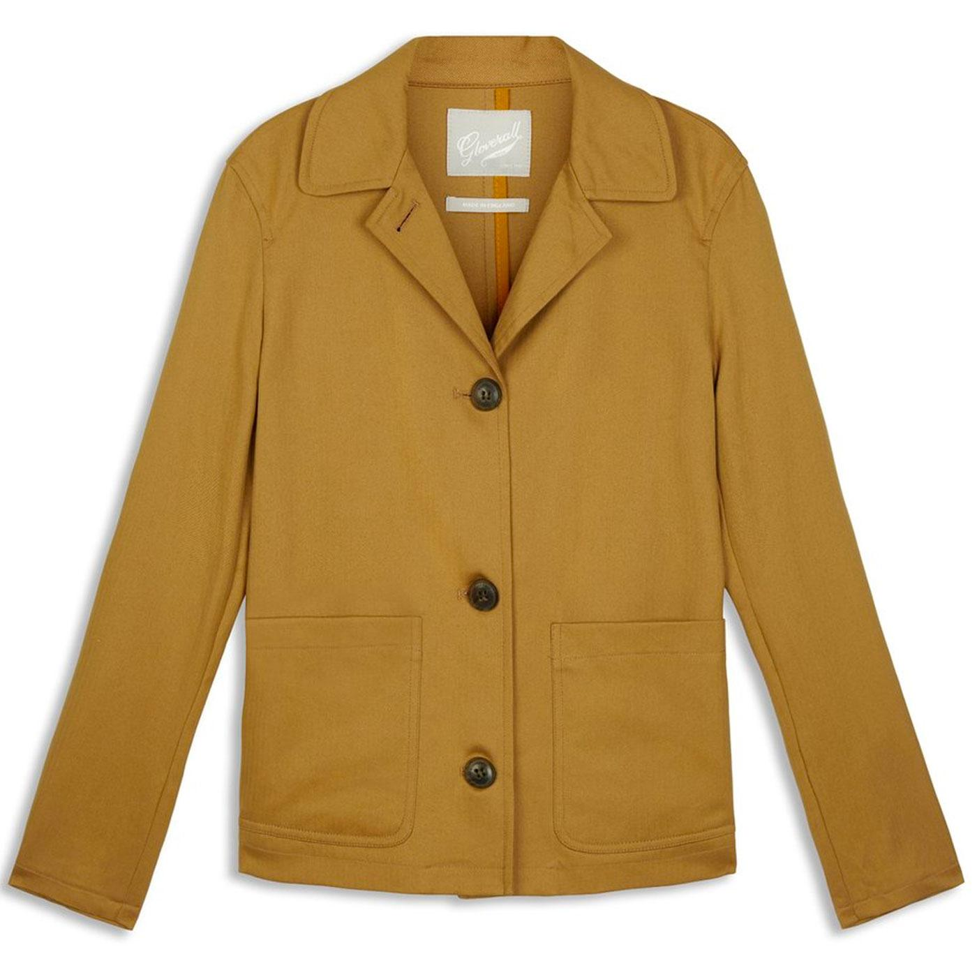 Charlotte GLOVERALL Women's Retro 60s Work Jacket