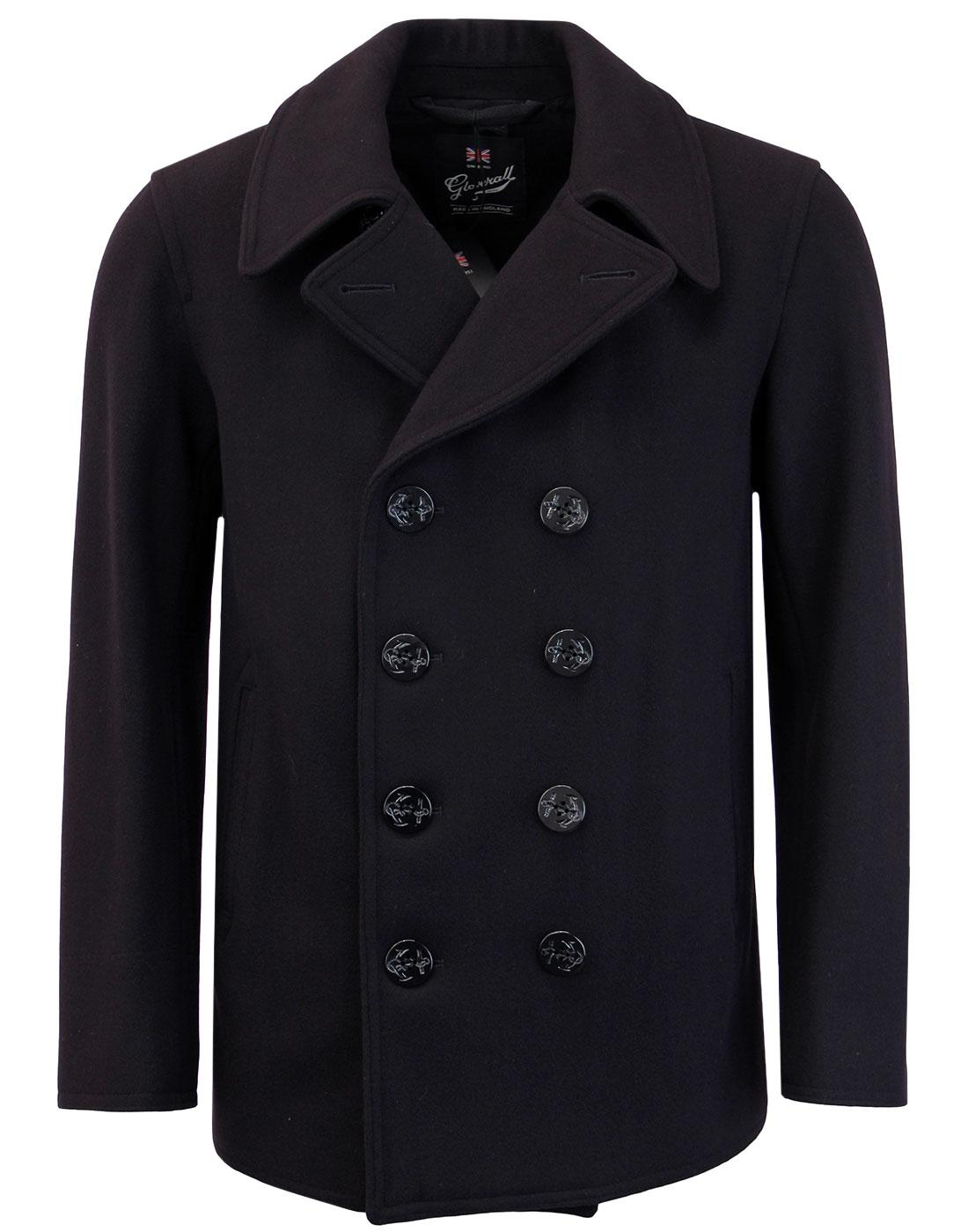 GLOVERALL Made in England Mod Admiralty Peacoat