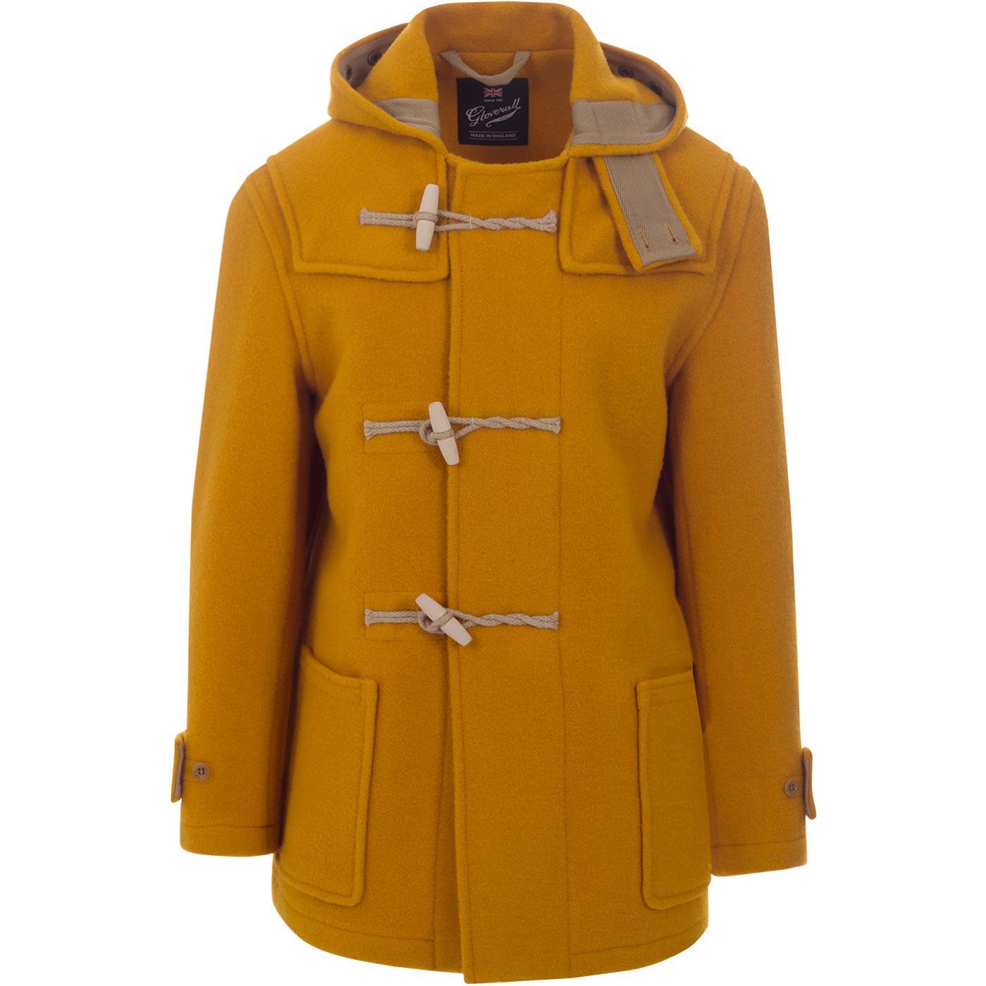 Mid Monty GLOVERALL Mod 60s Wool Duffle Coat (Y)