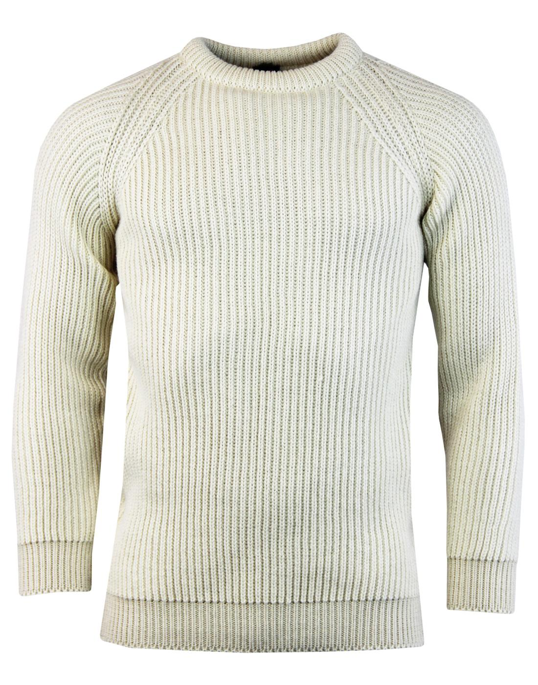 GLOVERALL Made in England Retro Fisherman Jumper