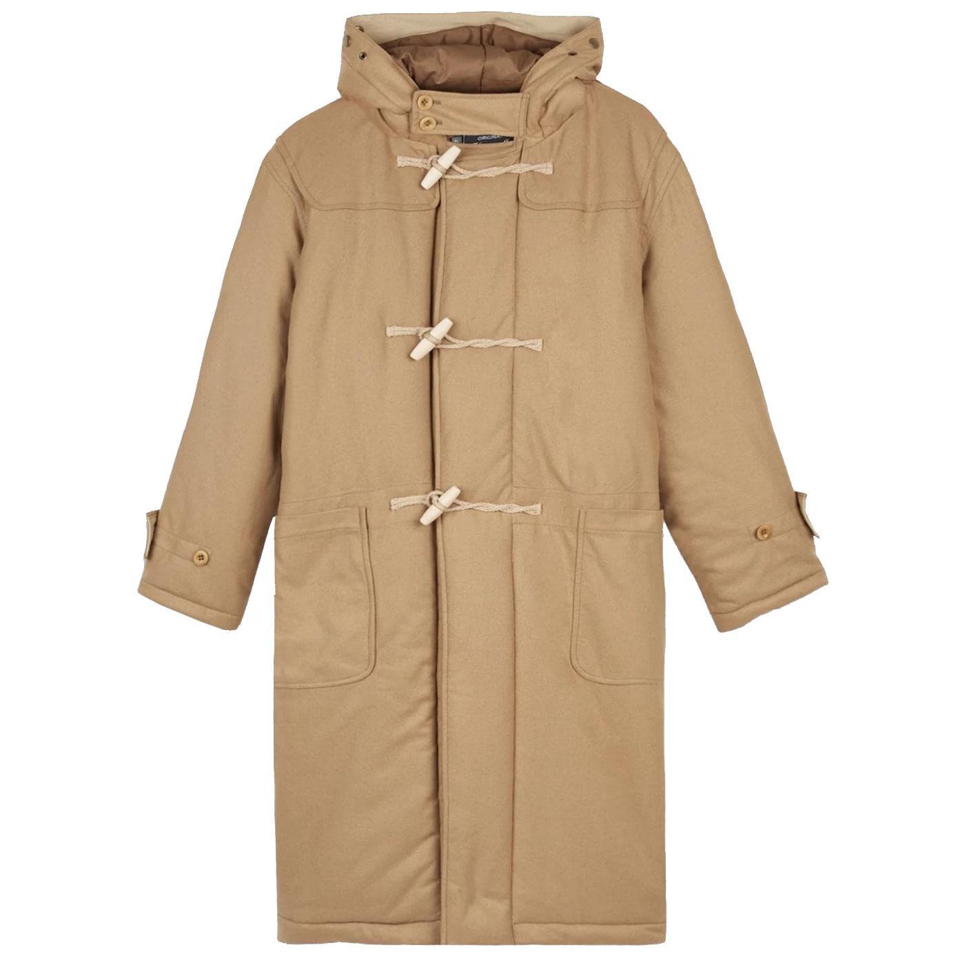 GLOVERALL Men's Retro Padded Insulated Duffle Coat