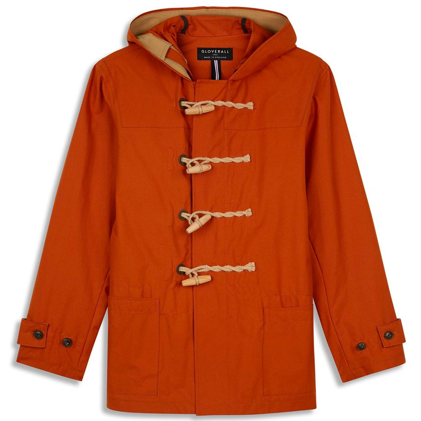 Mid Monty GLOVERALL Mod Summer Duffle Coat GINGER