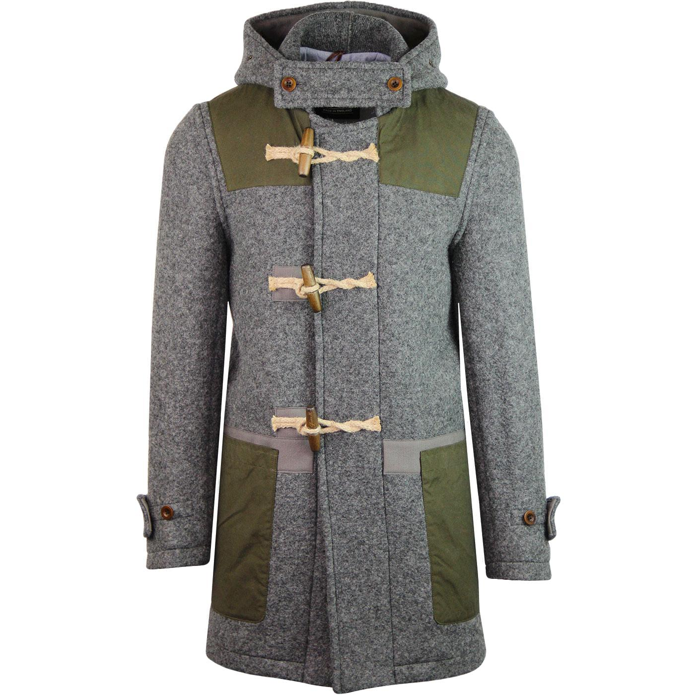 Yarmouth Monty GLOVERALL Mod Wax Patch Duffle Coat
