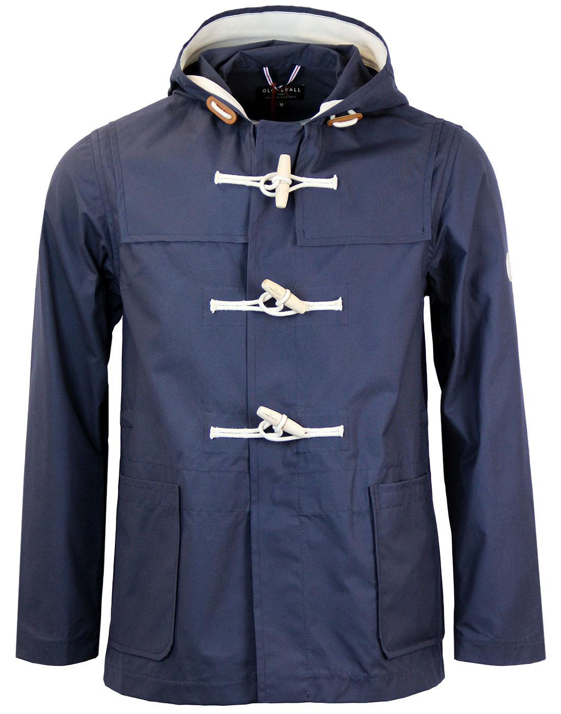 GLOVERALL Retro Mod Showerproof Cotton Duffle Coat