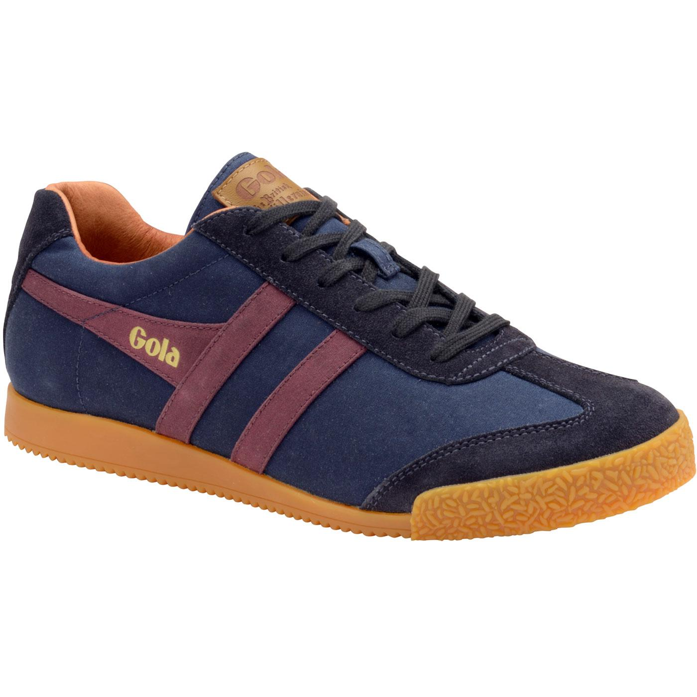 Harrier Millerain GOLA Men's Retro Trainers (Navy)