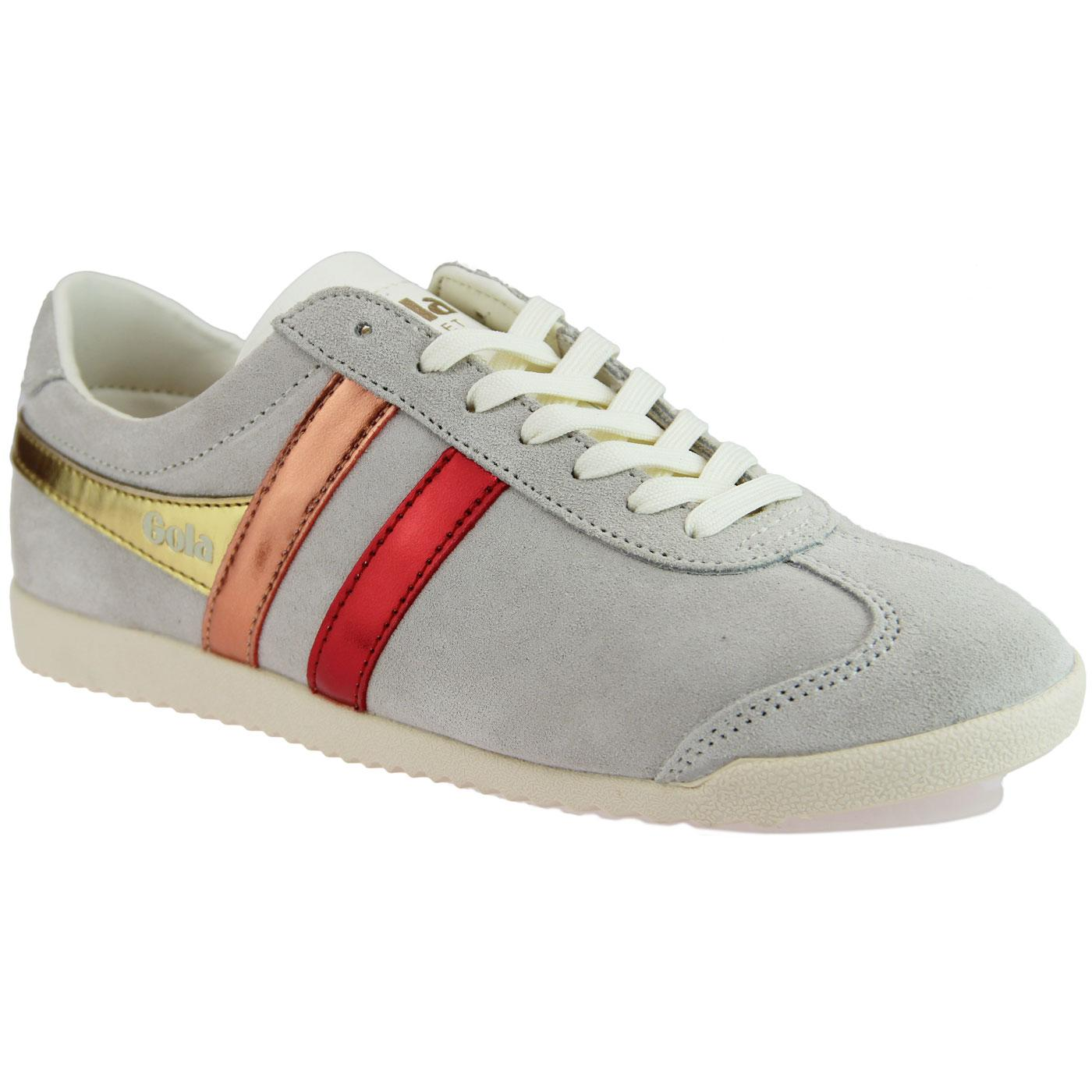 Bullet Flare GOLA Retro Metallic Stripe Trainers W
