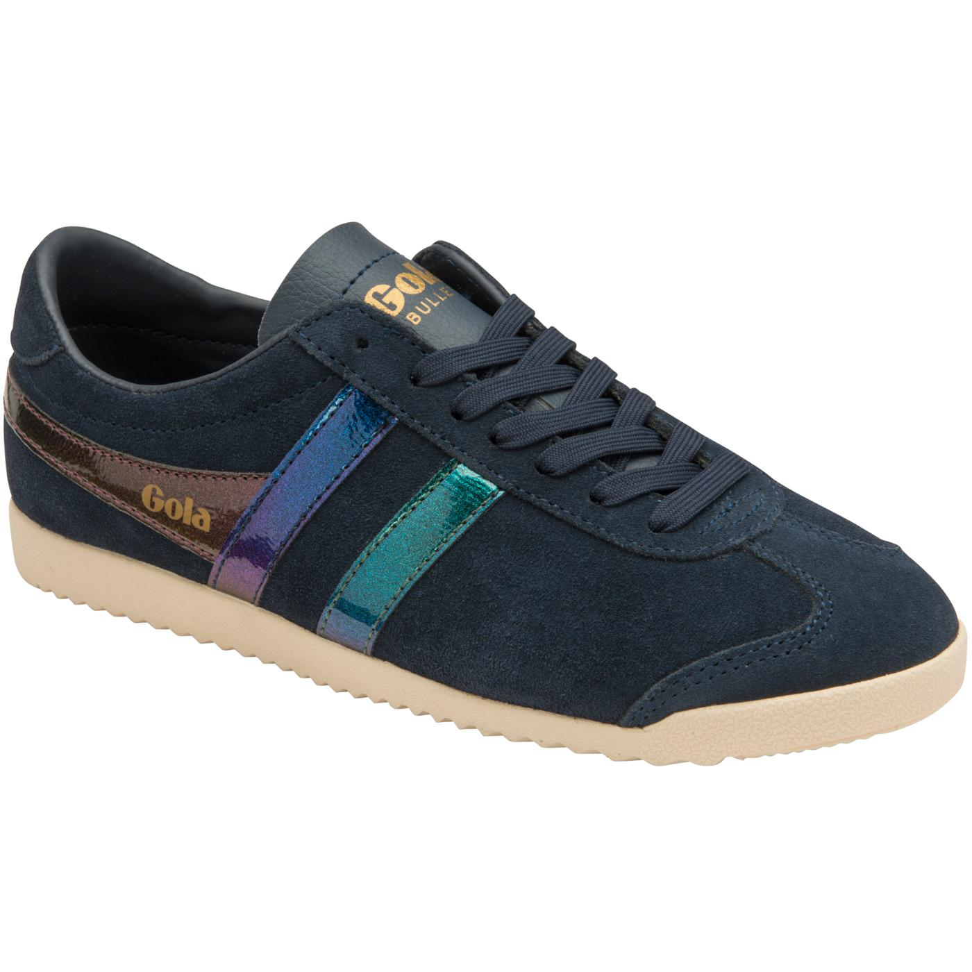Bullet Flash GOLA Women's Retro Suede Trainers (N)