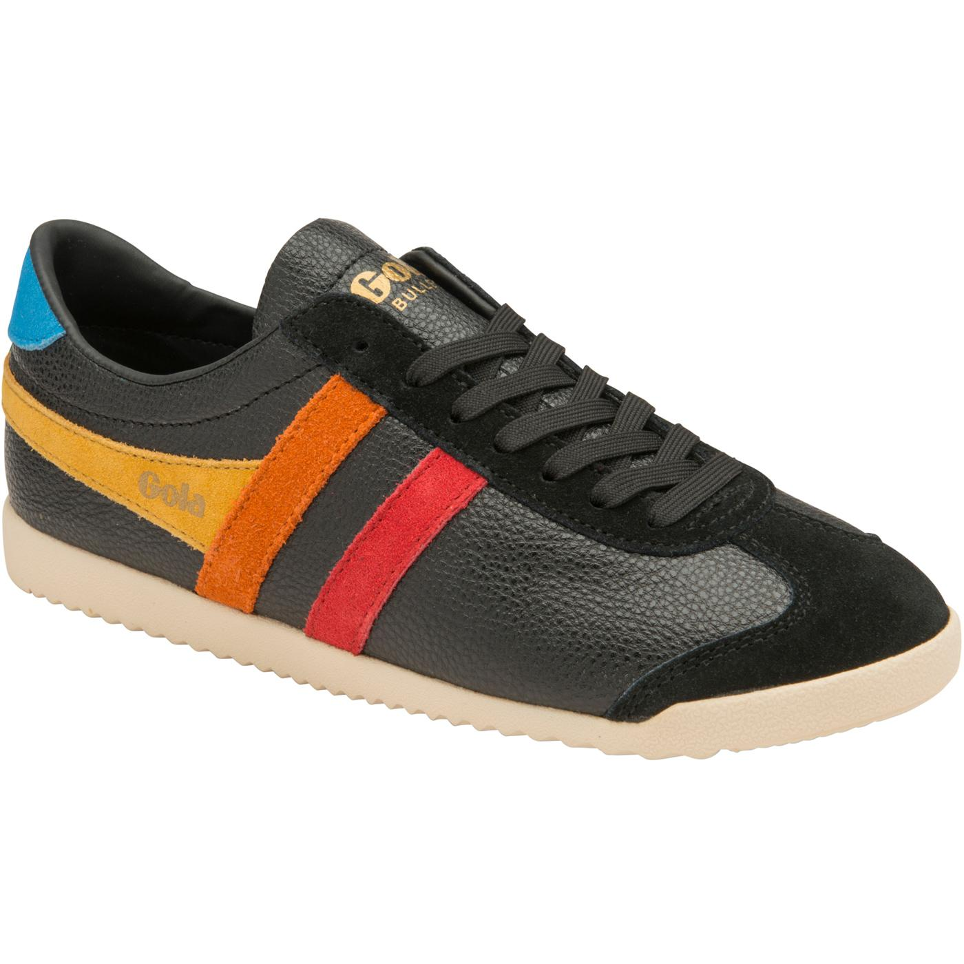 Bullet Trident GOLA Women's Retro Trainers (BLACK)