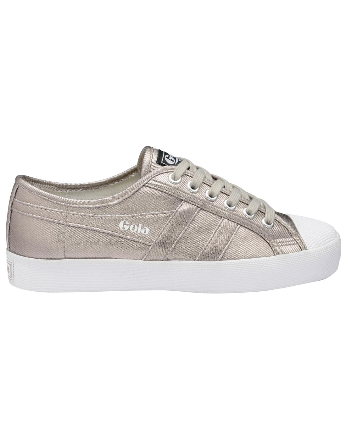Coaster Metallic GOLA Womens Retro Canvas Trainers