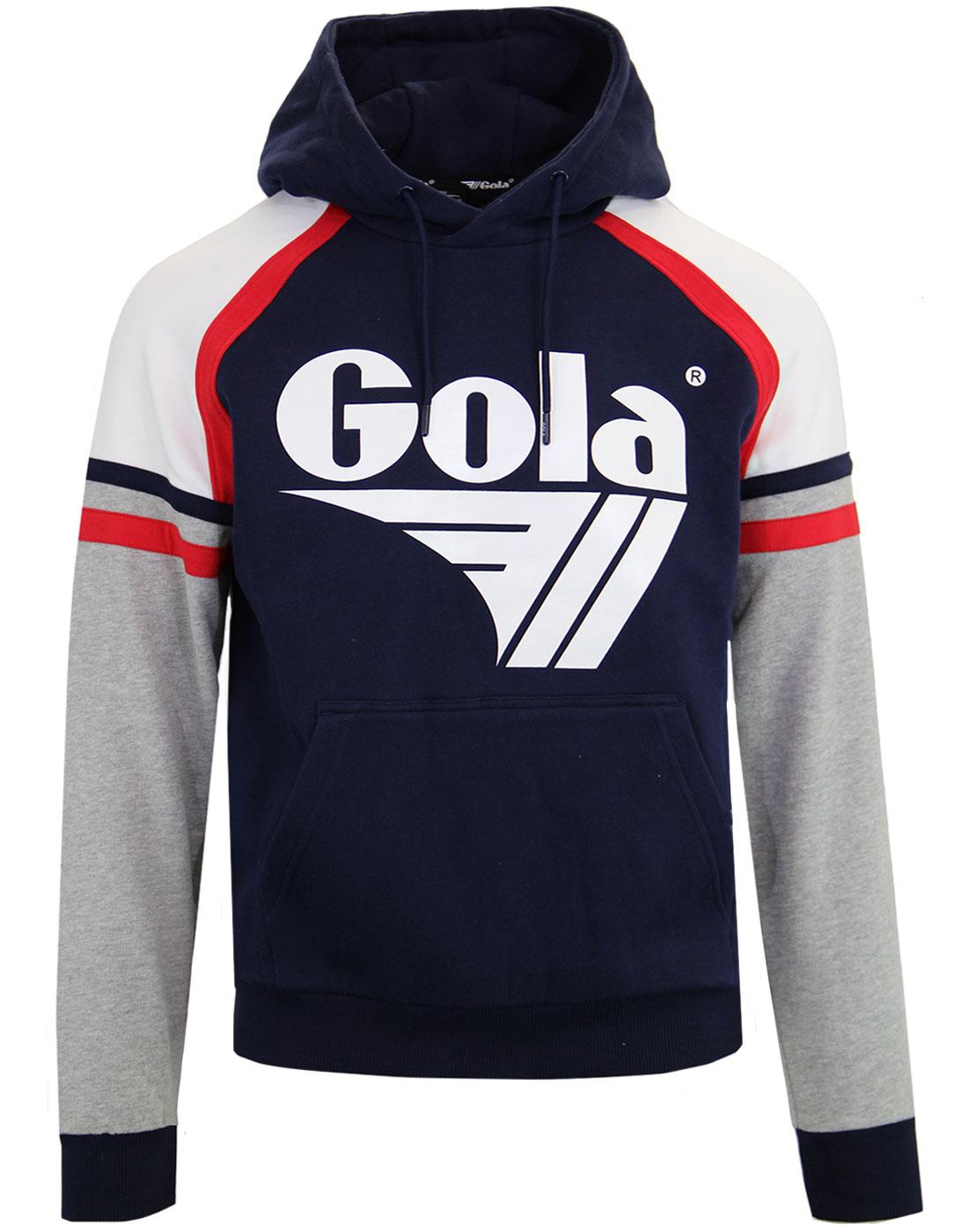 Morgan GOLA CLASSICS Retro 80's Panel Hoodie