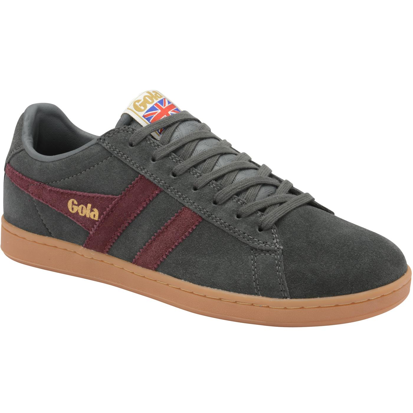 Equipe GOLA Retro Archive Suede Trainers (G/B/G)