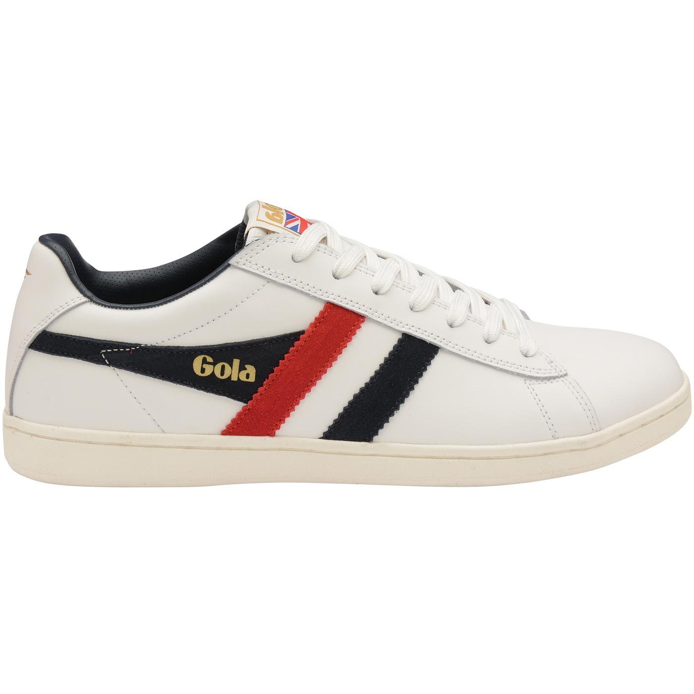 Equipe GOLA Retro Archive Leather Trainers (W/N/R)