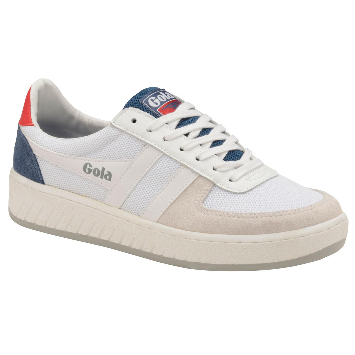 Grandslam Mesh GOLA Men's Retro Court Trainers WBR