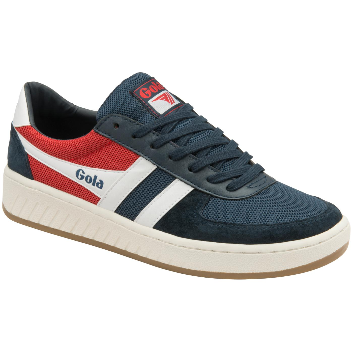 Grandslam RWB GOLA Men's Retro Court Trainers NAVY